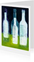 Kunstkaarten - Flessen