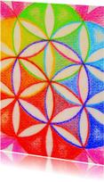 Kunstkaarten - Flower of Life