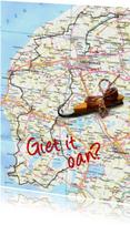 Fryske kaartsjes - Fryske Elfsteden route landkaart