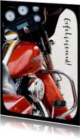 Geslaagd kaarten - Gave Motor Felicitatie Rijbewijs - OT