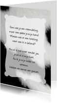 Gedichtenkaarten - Gedichtenkaart Koe Liefde