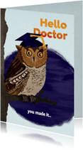 Felicitatiekaarten - Gefeliciteerd met je PhD/promotie!