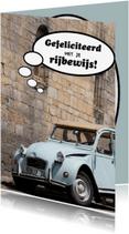 Geslaagd kaarten - Gefeliciteerd rijbewijs 3 - OT