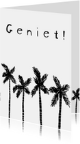 Vakantiekaarten - Geniet! Vakantie