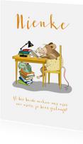 Geslaagd kaarten - Geslaagd - Boekenmuisje
