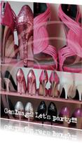 Geslaagd kaarten - Geslaagd schoenenkaart party