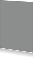 Blanco kaarten - Grijs enkel staand