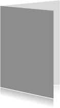 Blanco kaarten - Grijs staand dubbel