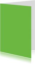 Groen staand dubbel