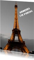 Vakantiekaarten - Groet uit Parijs