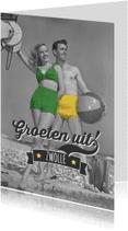 Ansichtkaarten - Groeten uit retro