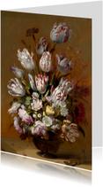 Bloemenkaarten - Hans Bollongier. Stilleven met bloemen