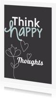 Spreukenkaarten - Happy Thoughts