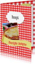 Menukaarten - Heerlijk lasagne recept - DH