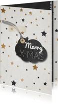 Zakelijke kerstkaarten - Hippe kerst - sterren