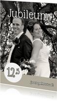 Jubileumkaarten - Huwelijksjubileum eigen foto 2 - OT