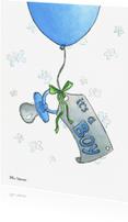 Geboortekaartjes - Its a boy Illu-Straver