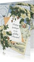 Kerstkaarten - Kendiekaart EDELWEISS Feestdagen