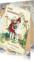 Moederdag kaarten - Kendiekaart EDELWEISS Lieve Mama