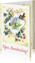 Moederdag kaarten - Kendiekaart EDELWEISS Mama