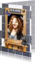 Uitnodigingen - KendieKaart-Verjaardag vrouw