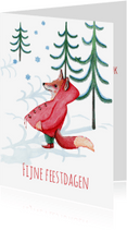 Kerstkaarten - kerst-fijne feestdagen-KK