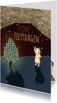 Kerstkaarten - kerst-fijnefeestdagen-KK