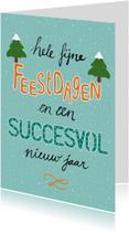 Zakelijke kerstkaarten - Kerst zakelijk succesvol - HR