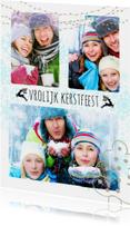 Kerstkaarten - Kerstcollage 3 foto's - BK