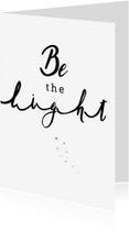 Kerstkaarten - Kerstkaart - Be the Light