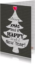 Zakelijke kerstkaarten - Kerstkaart BlackMerry