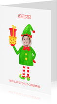 Kerstkaarten - Kerstkaart CliniClowns selfie