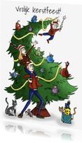 Kerstkaarten - Kerstkaart gezin-JB