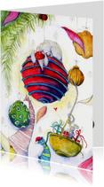 Kerstkaarten - Kerstkaart muizen