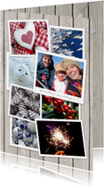 Kerstkaarten - Kerstkaart Winterse fotomix