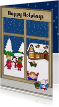 Kerstkaarten - Kerstmis Kerstraam