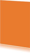 Kies je kleur oranje staande kaart