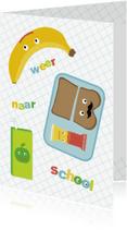 Kinderkaarten - Kind-School Broodtrommel-HK