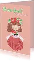 Kinderfeestjes - Kinderfeest Bloemen Prinses