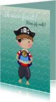 Kinderfeestjes - Kinderfeest Piraatje