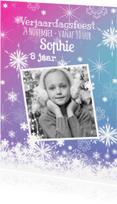 Kinderfeestjes - Kinderfeest sprookje sneeuwvlok