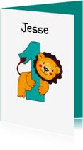 Kinderfeestjes - Kinderfeestje 1 jaar leeuwtje - HR