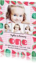 Kinderfeestjes - Kinderfeestje 1 jaar watermeloen