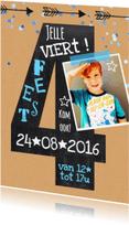 Kinderfeestjes - Kinderfeestje 4 jaar krijt