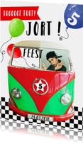 Kinderfeestjes - Kinderfeestje autobusje jongen