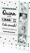 Kinderfeestjes - Kinderfeestje cake smash mint