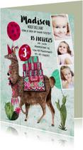 Kinderfeestjes - Kinderfeestje Dierentuin Zoo Lama