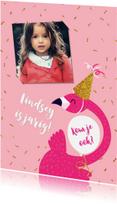 Kinderfeestjes - Kinderfeestje Flamingo Glitter
