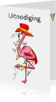 Kinderfeestjes - Kinderfeestje gekke flamingo