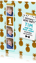 Kinderfeestjes - Kinderfeestje jongen 1 jaar goud